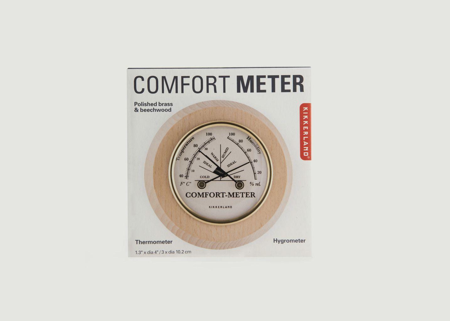 Mesure Confort Thermomètre & Hygromètre - Kikkerland
