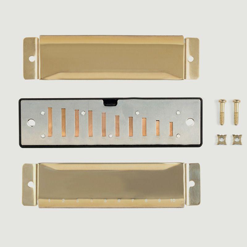 Kit Complet Harmonica à Assembler - Kikkerland