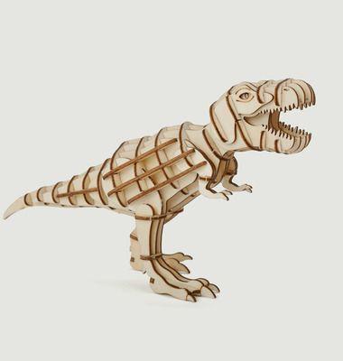 Puzzle 3D en Bois, 'T-Rex'