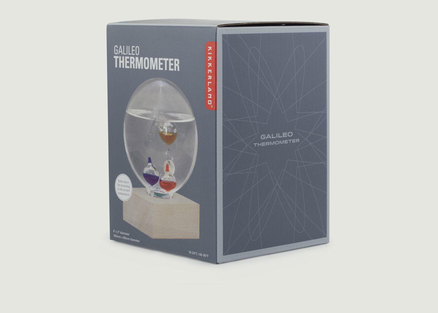 Thermomètre De Galilée Bulle - Kikkerland