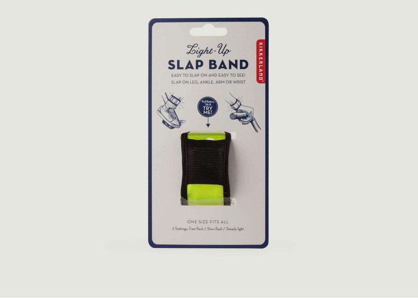 Bracelet Vélo Light-Up Slap Band - Kikkerland