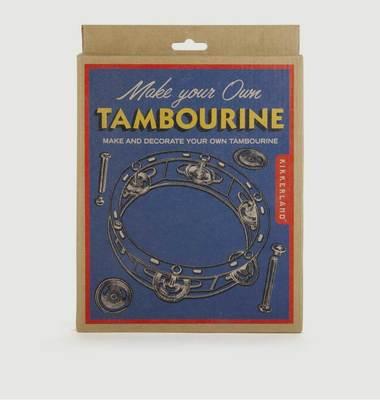 DIY Tambourin Bois Et Métal