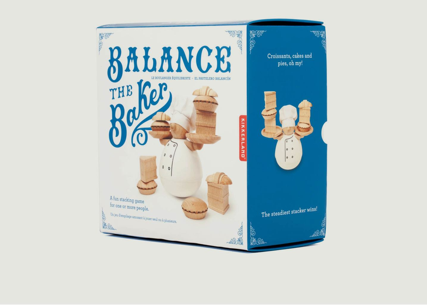 Jeu En Bois Balance The Baker - Kikkerland
