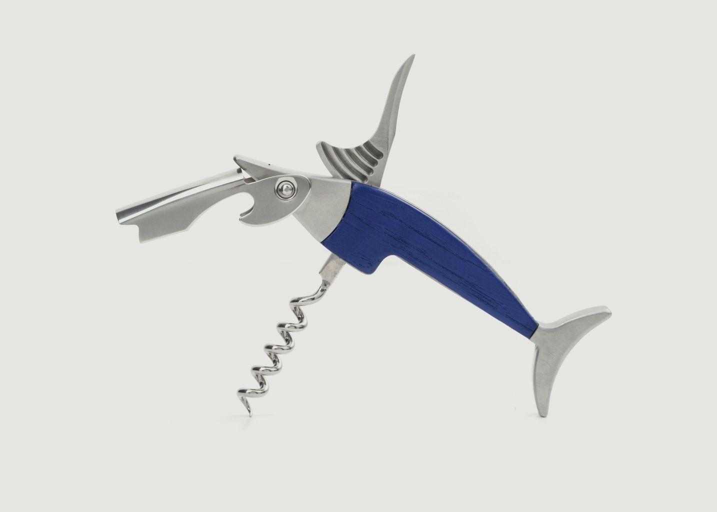 Tire-Bouchon Marlin Bleu - Kikkerland