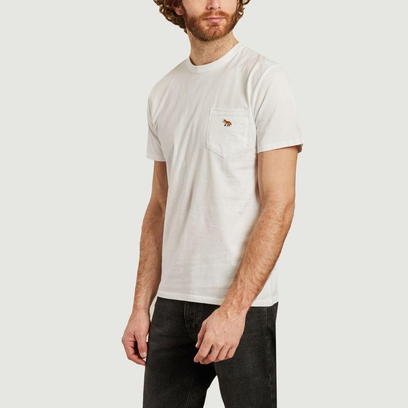 T-shirt Fox Profil patch - Maison Kitsuné