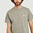 matière T-shirt classique Chillax Fox Patch  - Maison Kitsuné