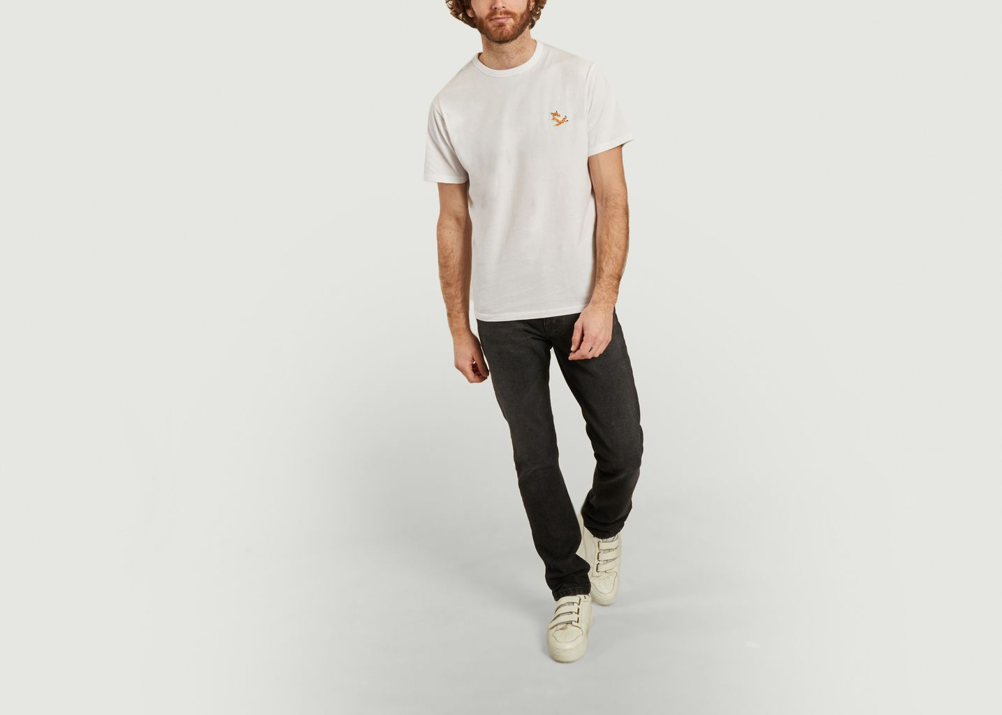 T-shirt classique Chillax Fox Patch - Maison Kitsuné
