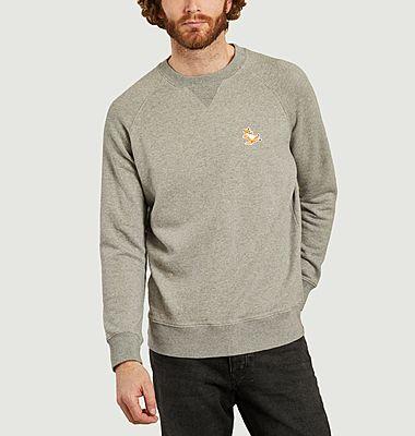 Classic Chillax Fox Head Patch Sweatshirt