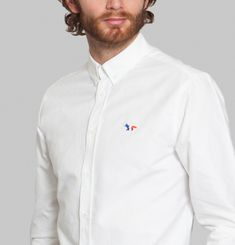 Chemise Oxford Fox Tricolore