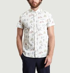 Chemise Scooter All-Over