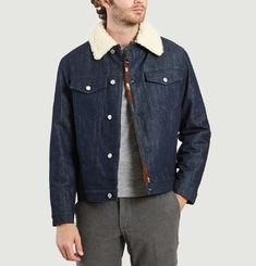 Veste Trucker Denim