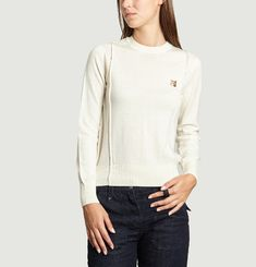 R-Neck Merino Wool Jumper