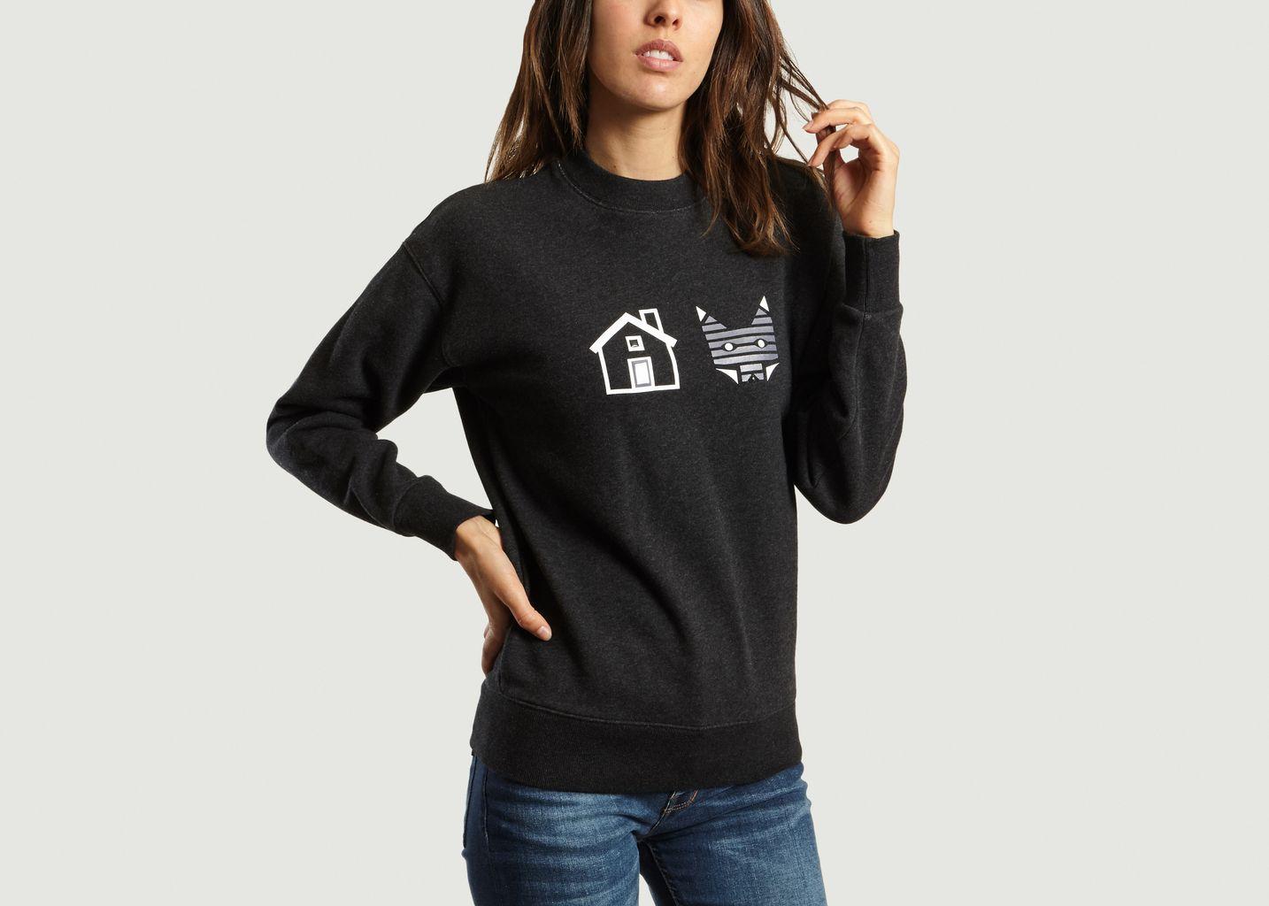 Sweatshirt Rébus - Maison Kitsuné