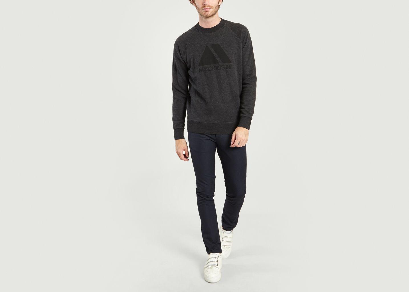 Sweatshirt Triangle - Maison Kitsuné