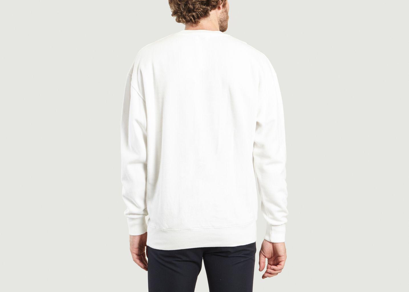 Sweatshirt Code - Maison Kitsuné