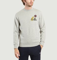 Astronaut Patches Sweatshirt