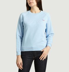 Sweatshirt Tricolor Fox Patch