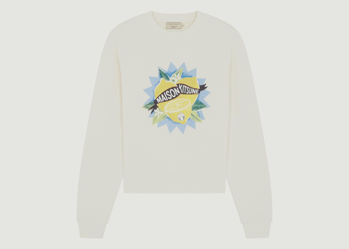 Sweatshirt Limone - Maison Kitsuné