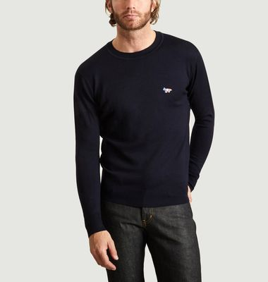 Pure Wool Logo Jumper