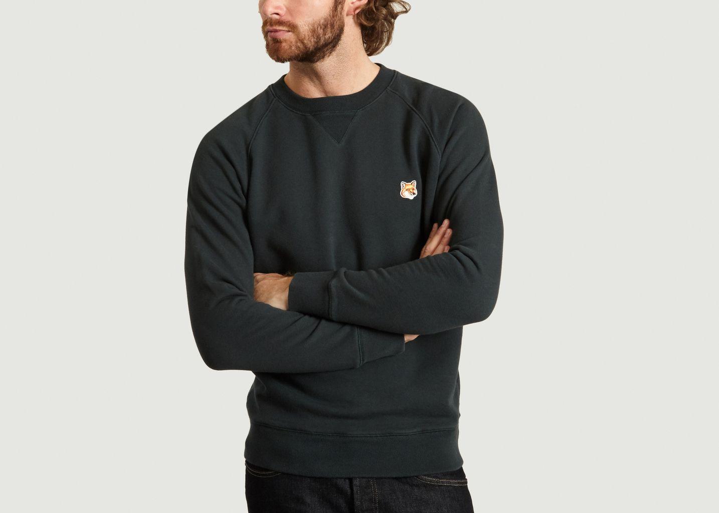 Sweatshirt Brodé Renard - Maison Kitsuné