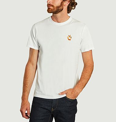 T-shirt avec patch All Right Fox