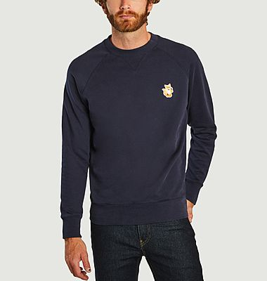 Sweatshirt avec patch All Right Fox
