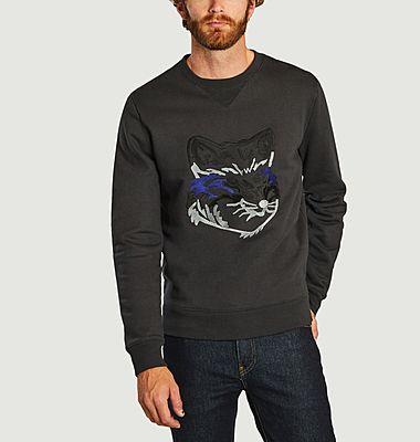 Sweatshirt brodé renard