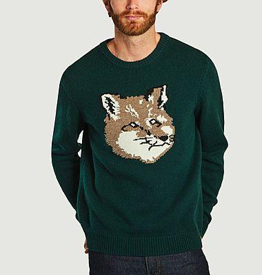 Pullover brodé