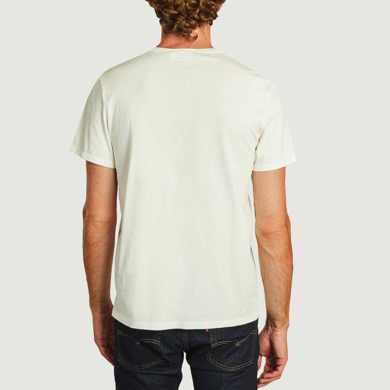T-shirt double logo  - Maison Kitsuné