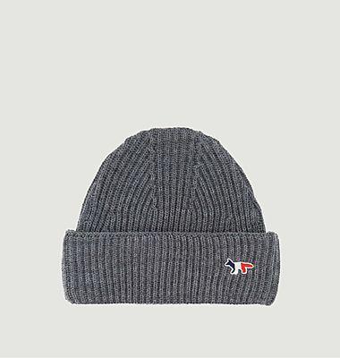 Bonnet logo fox tricolore