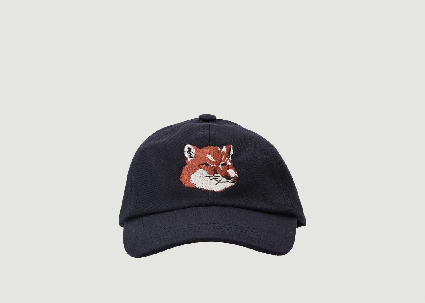 Casquette Fox Head brodé  - Maison Kitsuné