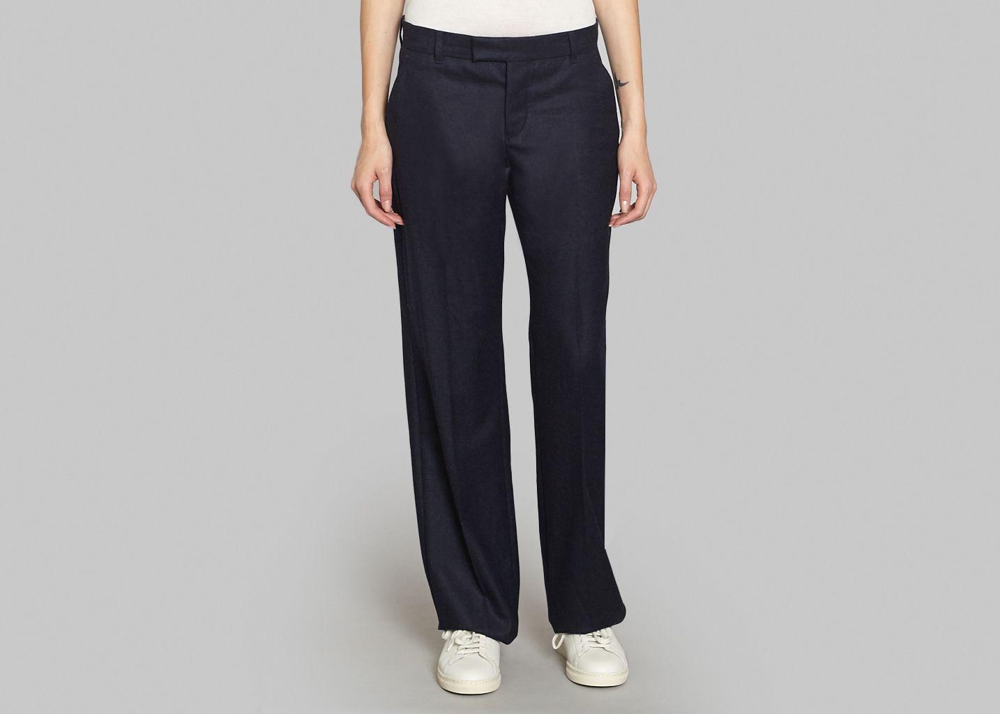 Maison KitsunéL'exception Bleu Pantalon Masculin Marine 8wnP0kXO