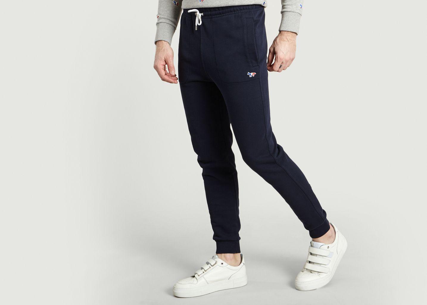 Pantalon De Jogging Avec Ecusson Renard - Maison Kitsuné