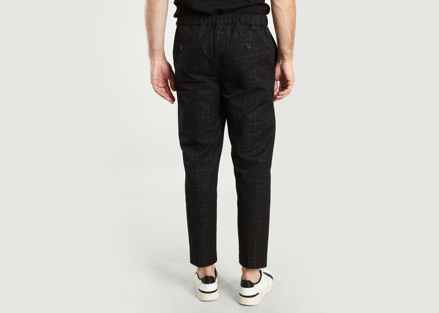 Pantalon City à Carreaux - Maison Kitsuné