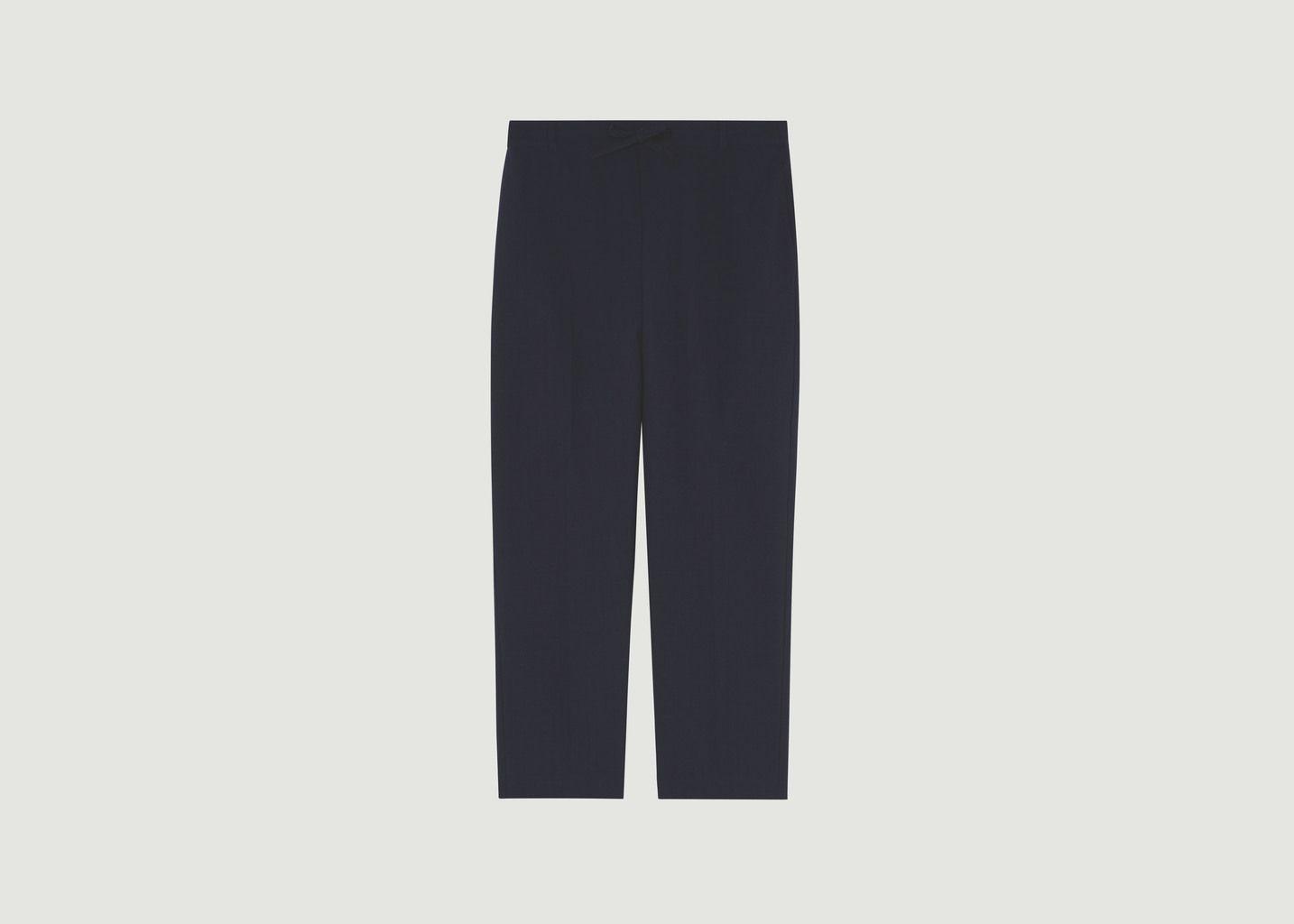 Pantalon Check City - Maison Kitsuné