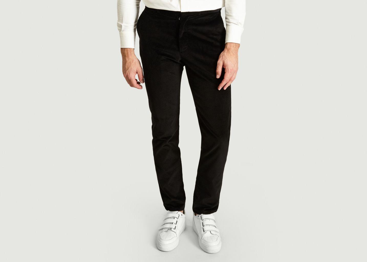Pantalon Chino Parfait En Velours - Maison Kitsuné
