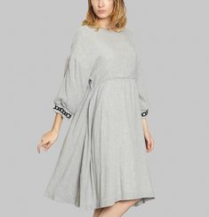 Miako Wool Dress