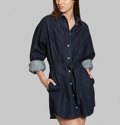 Robe Denim Lena