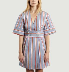 Sally Striped Dress