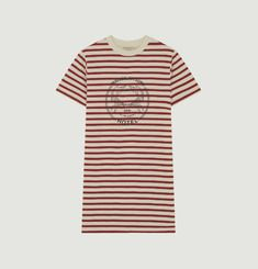 Robe T-Shirt Marinière