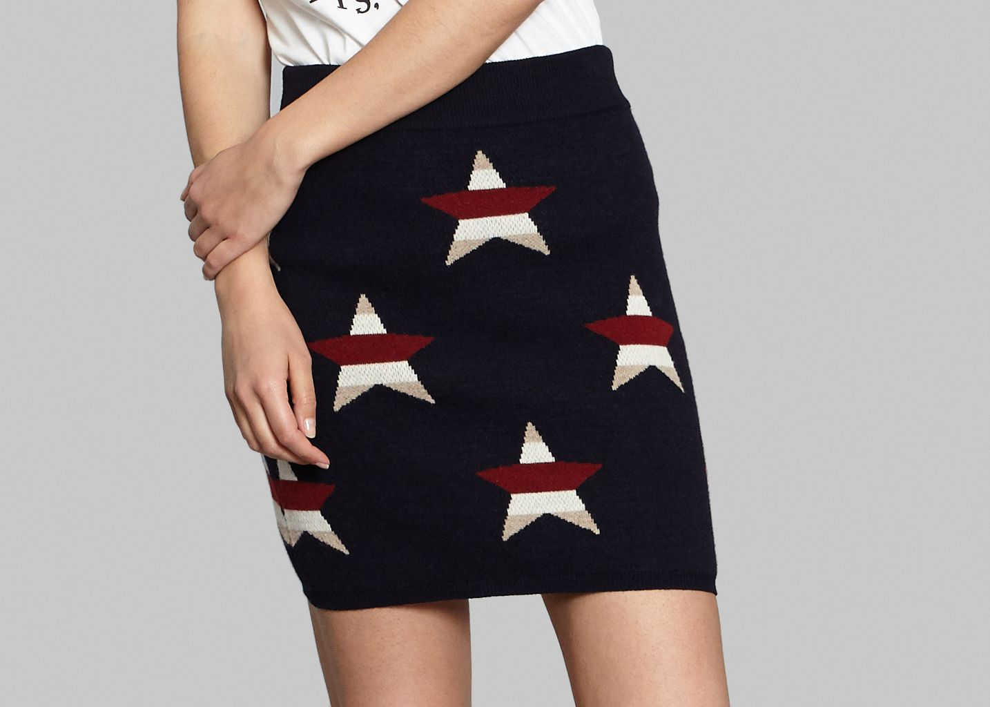 Stars Skirt - Maison Kitsuné