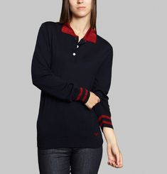 Merino Wool Polo