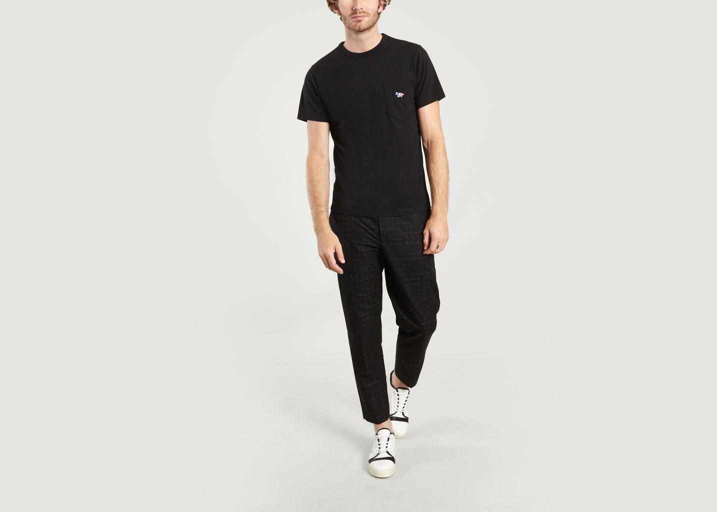 T-Shirt Renard Tricolore - Maison Kitsuné