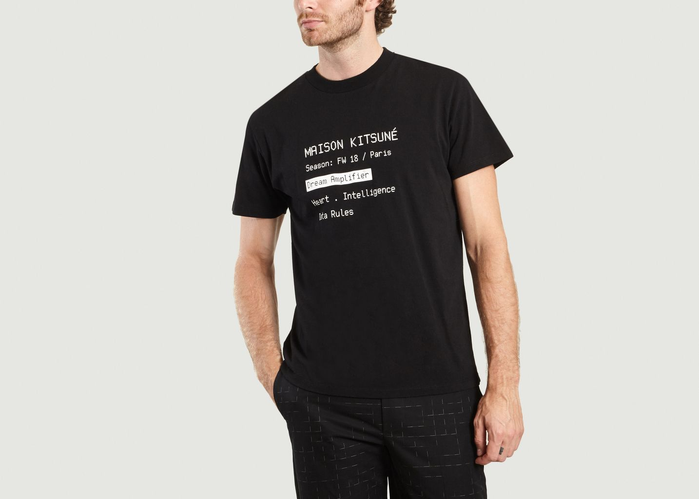 Code T-shirt - Maison Kitsuné