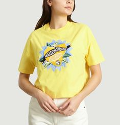 T-Shirt Cropped Limone