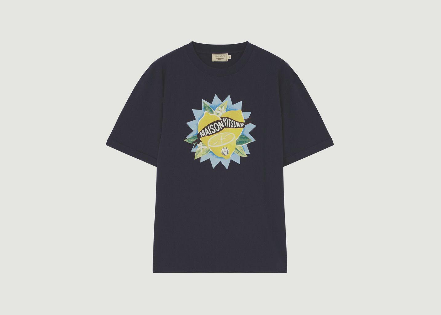 T-Shirt Limone - Maison Kitsuné