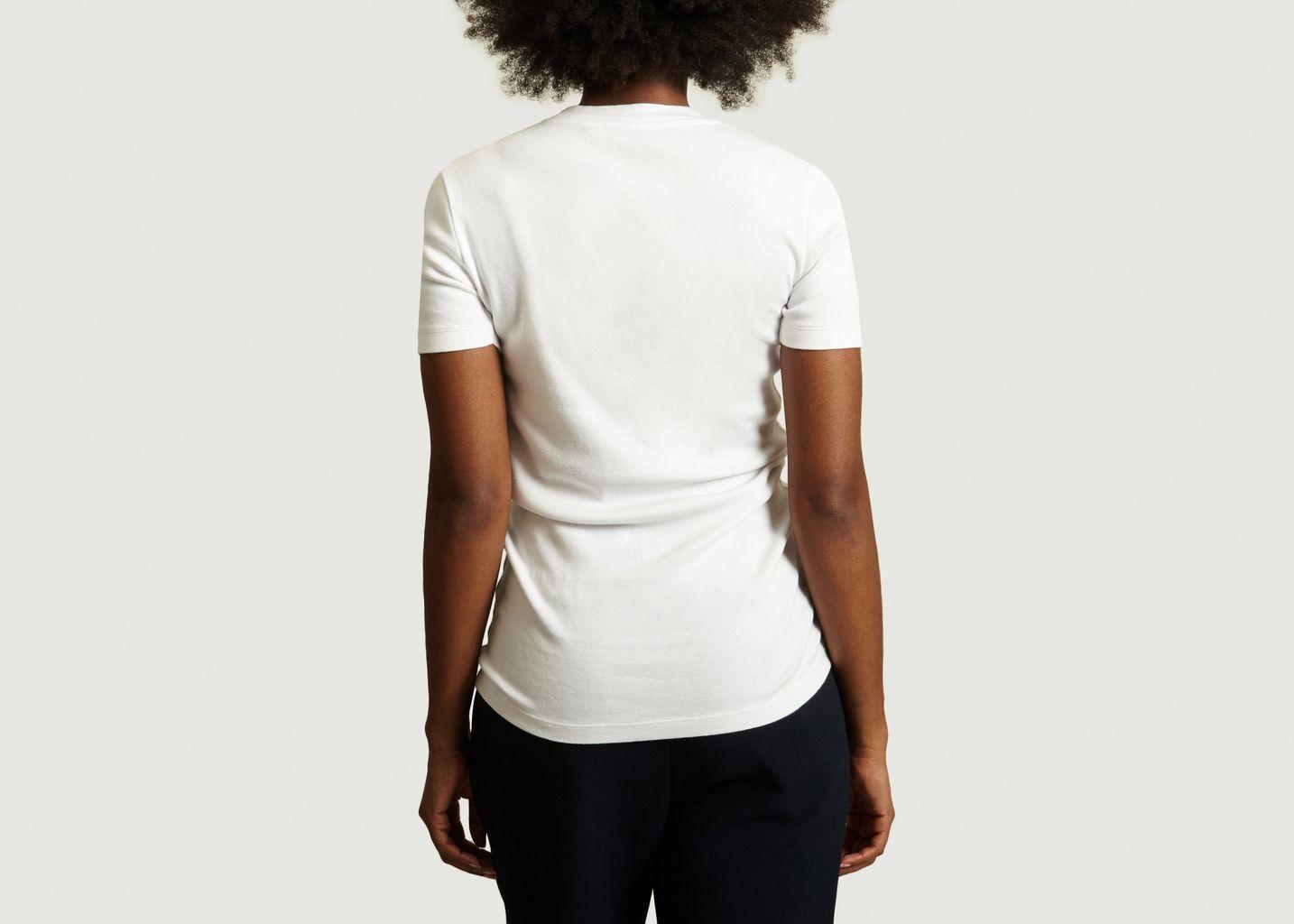 T-Shirt Ajusté Siglé - Maison Kitsuné