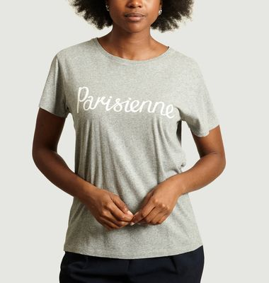 T-Shirt Lettrage Parisienne