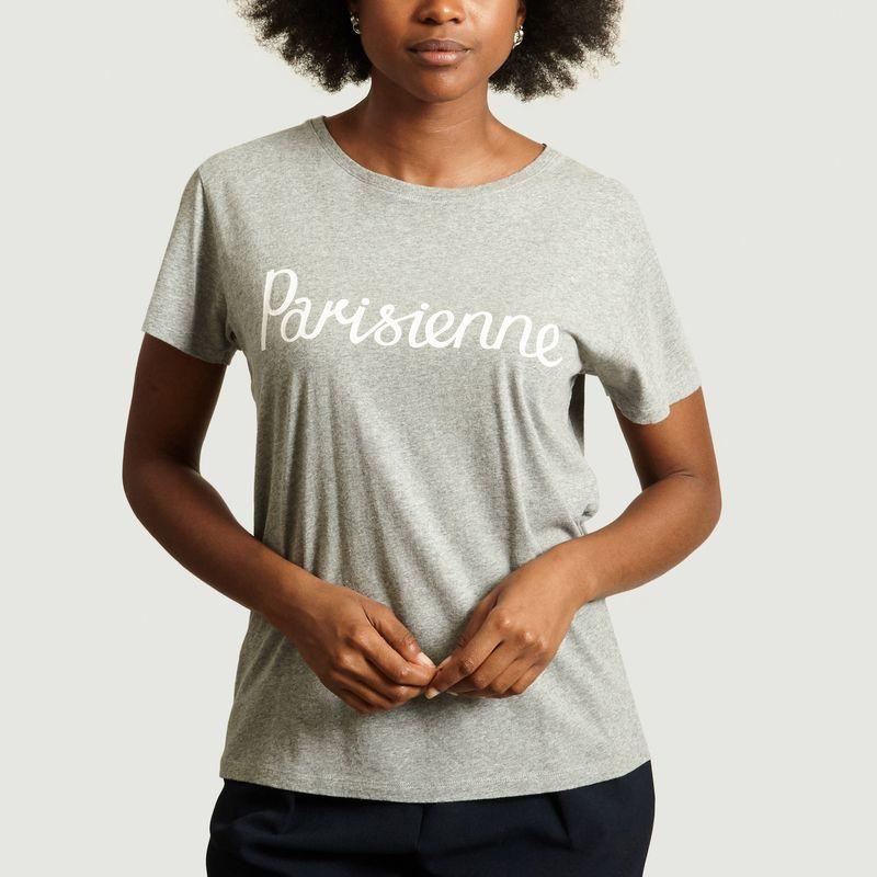 T-Shirt Lettrage Parisienne - Maison Kitsuné