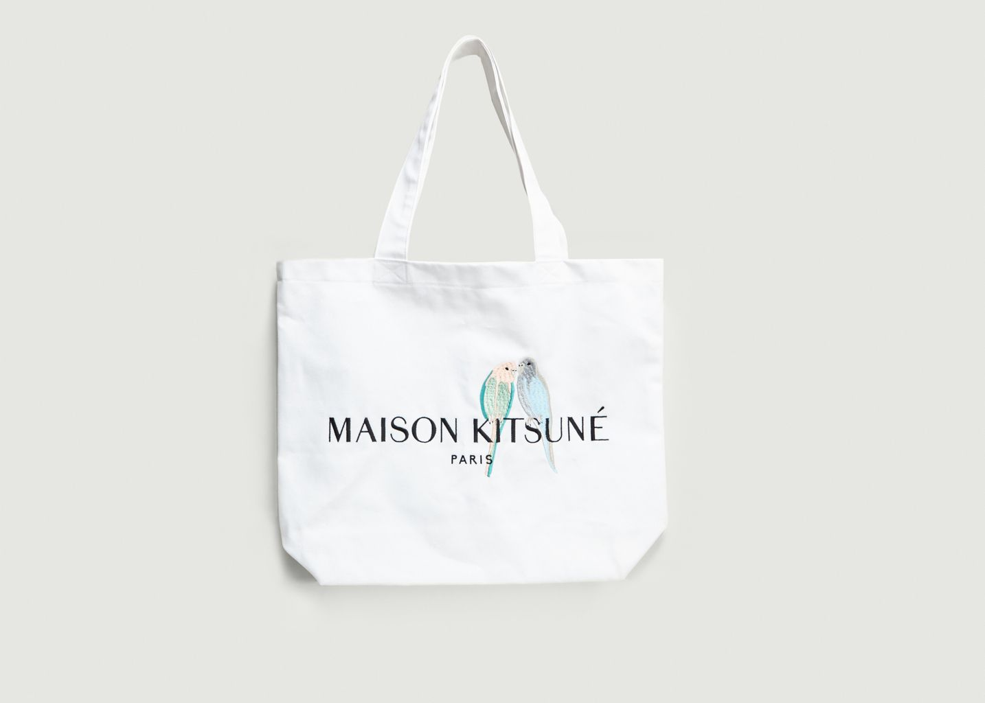 Tote Bag Love Birds - Maison Kitsuné